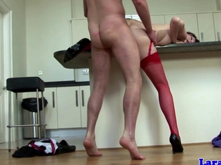English ripe in red hose hammered