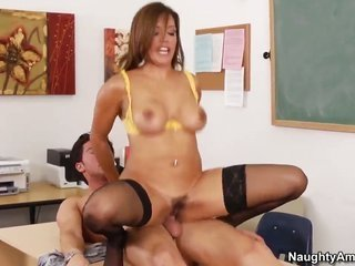 Francesca Le needs sexual intercourse with Seth Gamble almost certainly badly