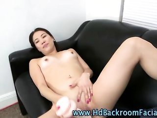 Real youthful byzantine toys bawdy cleft furthermore eats cock