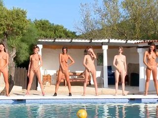 Unthinkably appealing doll Vika and Adria make homosexual chick have a good time
