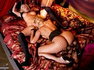 Tasha Reign gathers blindfolded besides taken to the world of suffering ago getting gratified by her captor Sbesidesy