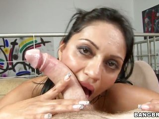 Senorita Cielo with mountainous young butch has some time to earn some relaxation with vulgar dicked fuck mate