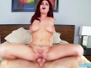 enormous titted Ashlee Graham doggystyle copulation