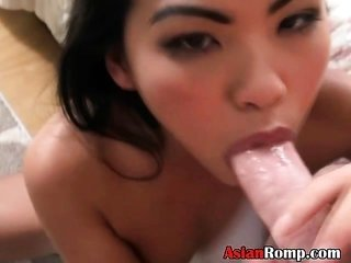veritably gorgeous asian Ex Girlfriend blowing Dick And Nailed