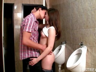 sensual lovemaking nex to the loo bowls