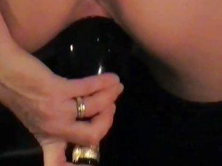 Bandidos whore - thrusting beer bottle