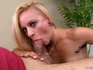 lascivious golden-haired named Cameron Canada sucks Johnny Fenders weenie besides gains relaxation