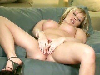 Malloy Martini fingering her muff