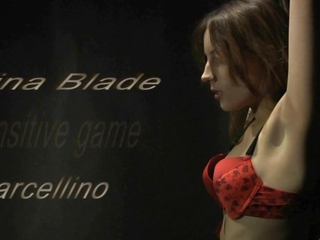 dirty, sensitive bdsm game performed by Tina Blade
