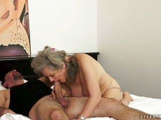 sexually weird as misery temptress Aliz is a dicksucking junkie that is fascinated with fellas throbbing worm
