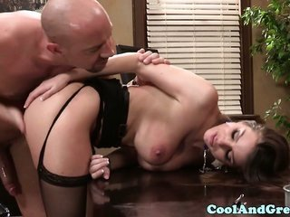 underclothes Brooklyn chase honey drilled on desk