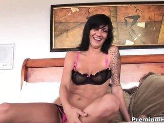 penetrated mellons tattooed Kayden Faye making sexually weird wank off
