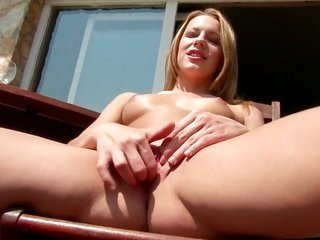 With shaven fur pie makes her provoking head trips come yup alone