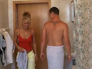Euro housewife comes into fisted as well drilled by a budding cock