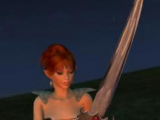 Fiery toonami Redhead Elf in Scorching CGI boorish screwing