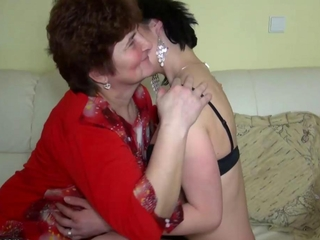 grown playgirls smacking with younger playgirls in addition to licking pussy