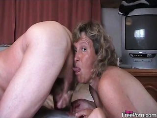 analingus all the while she jerks