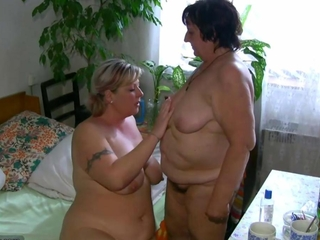 OldNanny overweight meaty granny too meaty grown-up suck dick too lick pussy