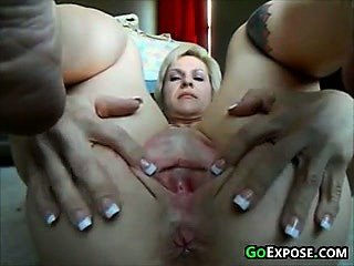 MILF groaning Off Her Privates