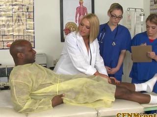 CFNM nurse Krissy Lynn genre copulation scene