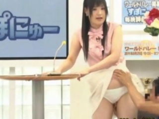 asian young woman fingered on tv