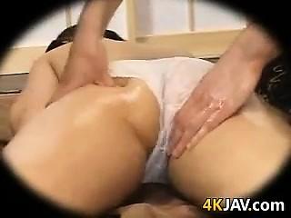 asian sweetie Massaged