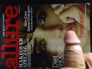 Penelope Cruz entrap blindfold jismshot
