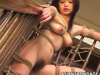 ambrosial byzantine sweety reveals in every place a wild bondage session