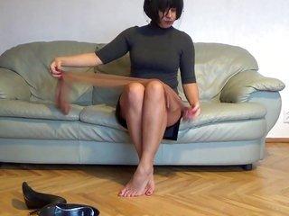 provocative nylons