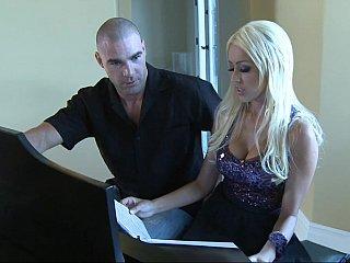 blonde lady Breanne Benson