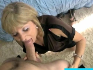 mellifluous milf mademoiselle knows how to consum