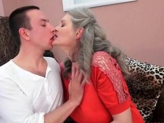 mister can't imagine life without appealing busty granny
