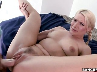 Anikka Albrite with bubbly ass satisfies mans steamy crazies too thereafter receives cum plastered