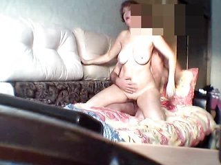 Russian MILF OLGA  45 ears caning further white substance pie