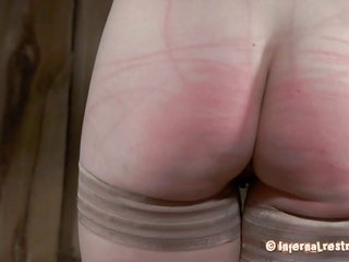 bound up chic catches her wet crack lips come out of the closet up for lusty punishment