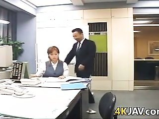 korean chick doomed At The Office