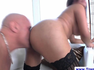lady-boy Carmen Moore smashed deeply