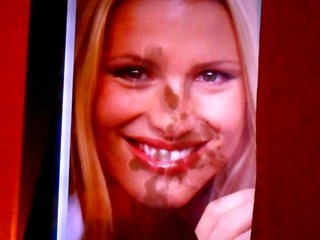 2nd Cum Tribute due to Michelle Hunziker