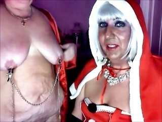 cum guzzling gutter tramp Christmas more than that her servant tramp Katrina pt 3
